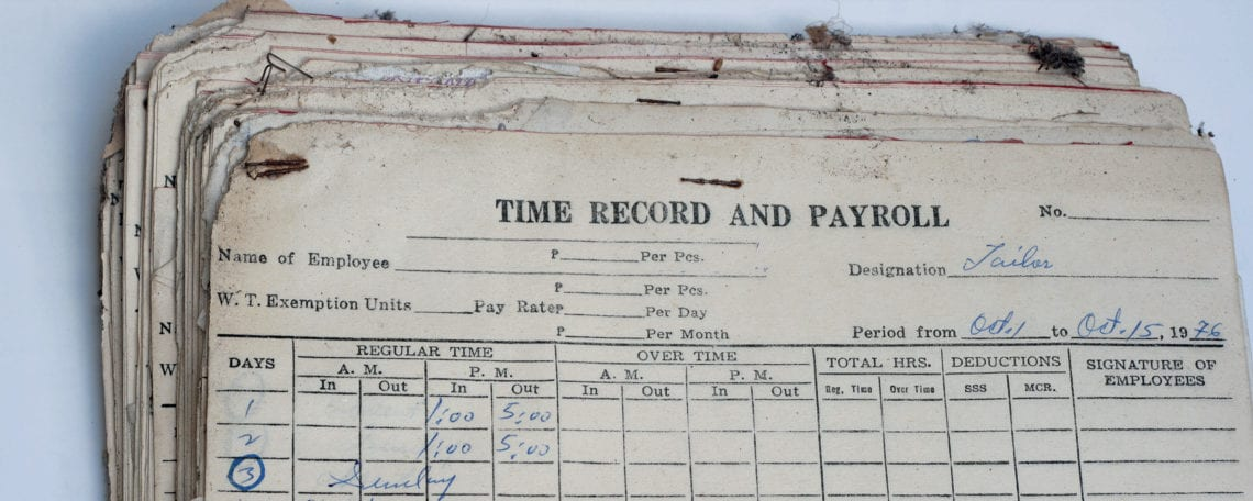 how long to keep payroll records